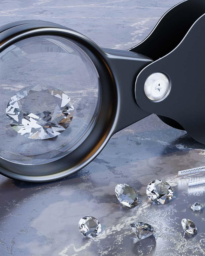 Zertifizierung Brillanten Diamanten
