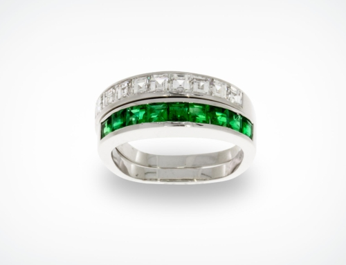 Smaragd-Diamant-Ring 2,43 ct.